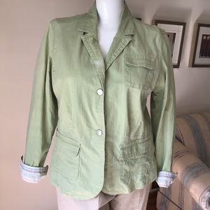 Liz Claiborne green jacket
